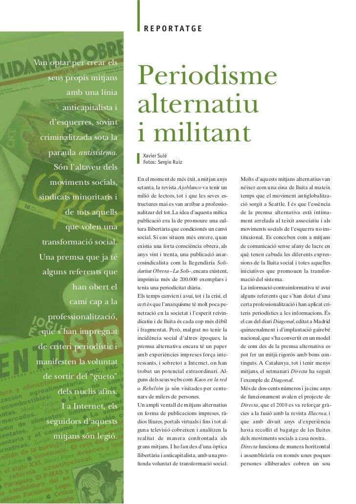 Periodisme Alternatiu i Militant