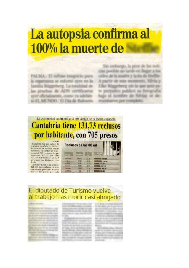 Periodismo errores