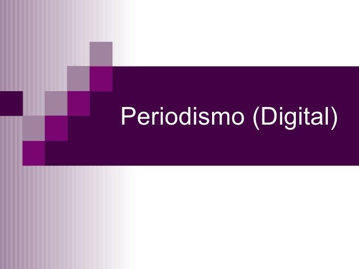 Periodismo (digital)