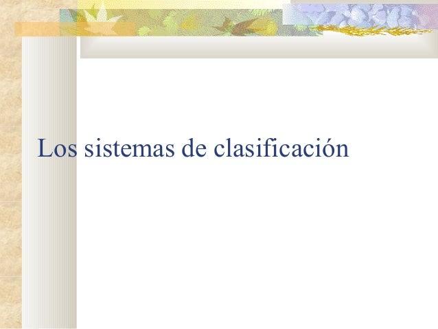 Periodos de clasificacion de las plantas