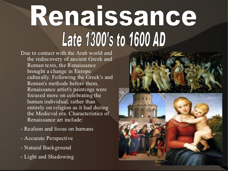 an essay on the art of the renaissance The renaissance period and the rebirth of classical ideals essaysthe renaissance saw a rebirth of classical ideals as examined in the first question, the emergence of the artist as someone with status and an intellectual approach to their craft was an important part of post-gothic art history.