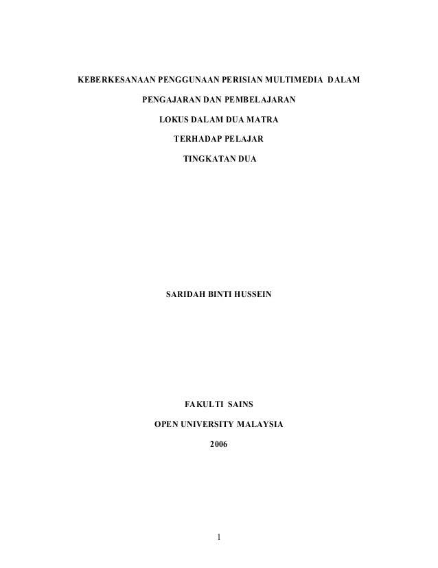 Perisian multimedia.tesis  mte pdf