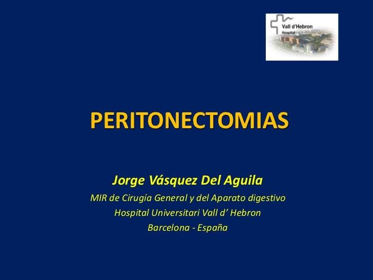 Peritonectomias