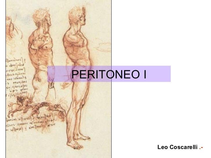 PERITONEO I Leo Coscarelli  .-