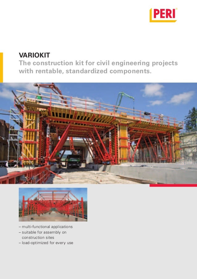 VARIOKIT              The construction kit for civil engineering projects              with rentable, standardized compone...