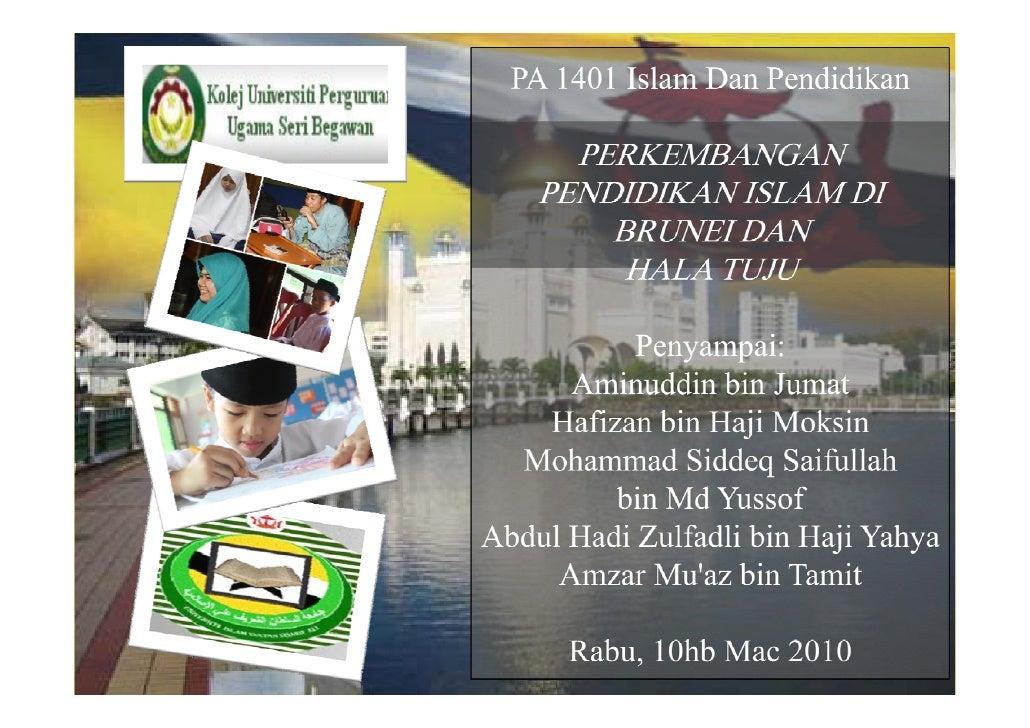 """Pendidikan Islam merupakan suatu gabungan kata:            """"Pendidikan""""              +           """"Islam"""""""