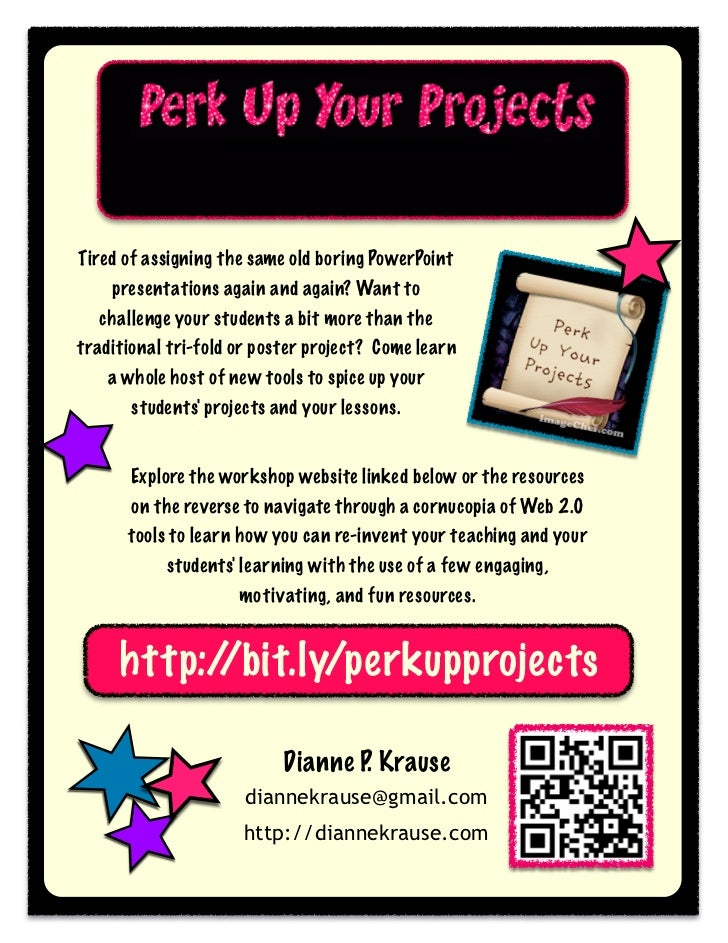 Perk Up Your Projects with Web 2.0