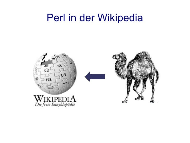 Perl in der Wikipedia