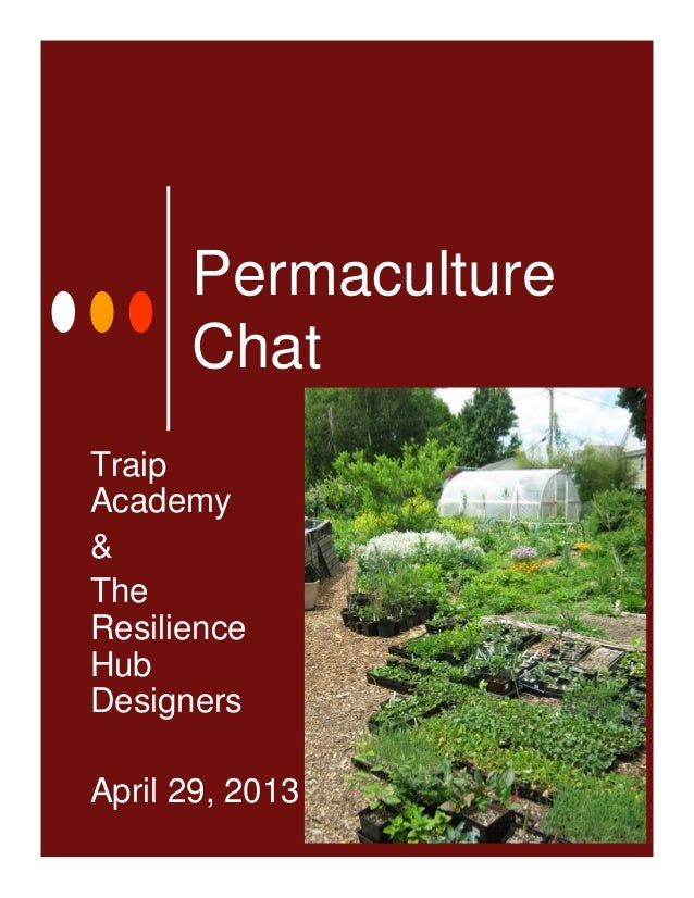 Permaculture Design Chat