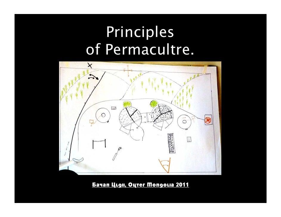 Principlesof Permacultre.Bayan Ulgii, Outer Mongolia 2011