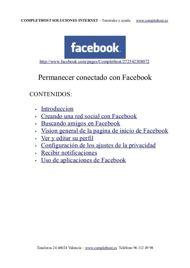 COMPLETHOST SOLUCIONES INTERNET – Tutoriales y ayuda www.complethost.es http://www.facebook.com/pages/Complethost/27254230...
