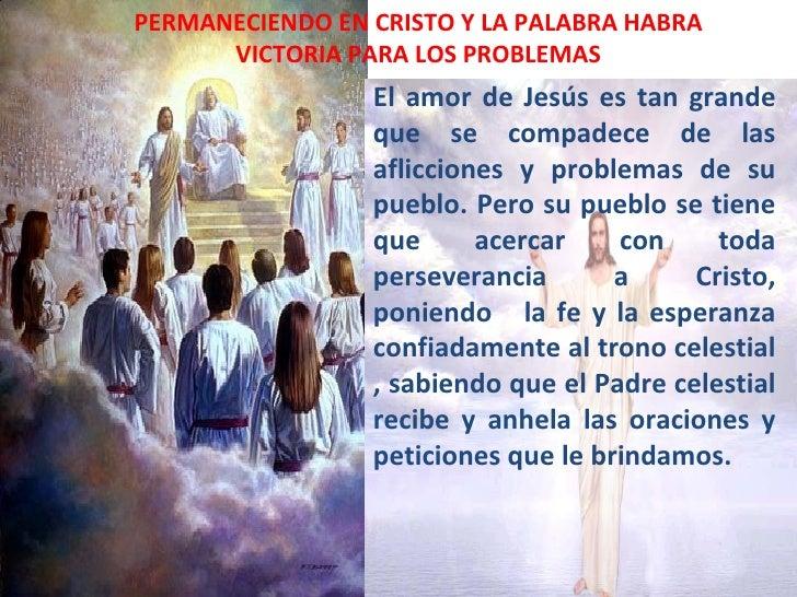 Permaneciendo en cristo y la palabra habra victoria