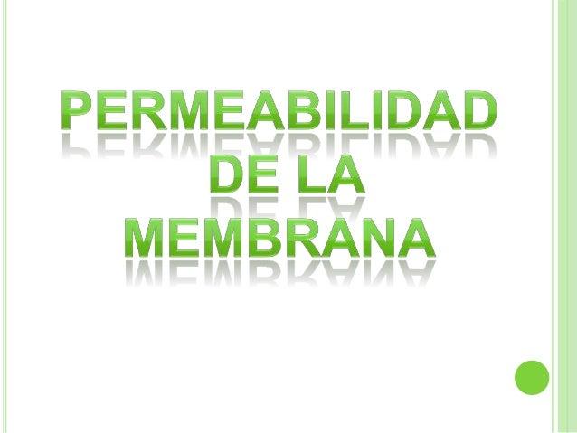 La membrana plasmáticaregula la entrada y salida demuchas sustancias entreel citoplasma y el medioextracelular.