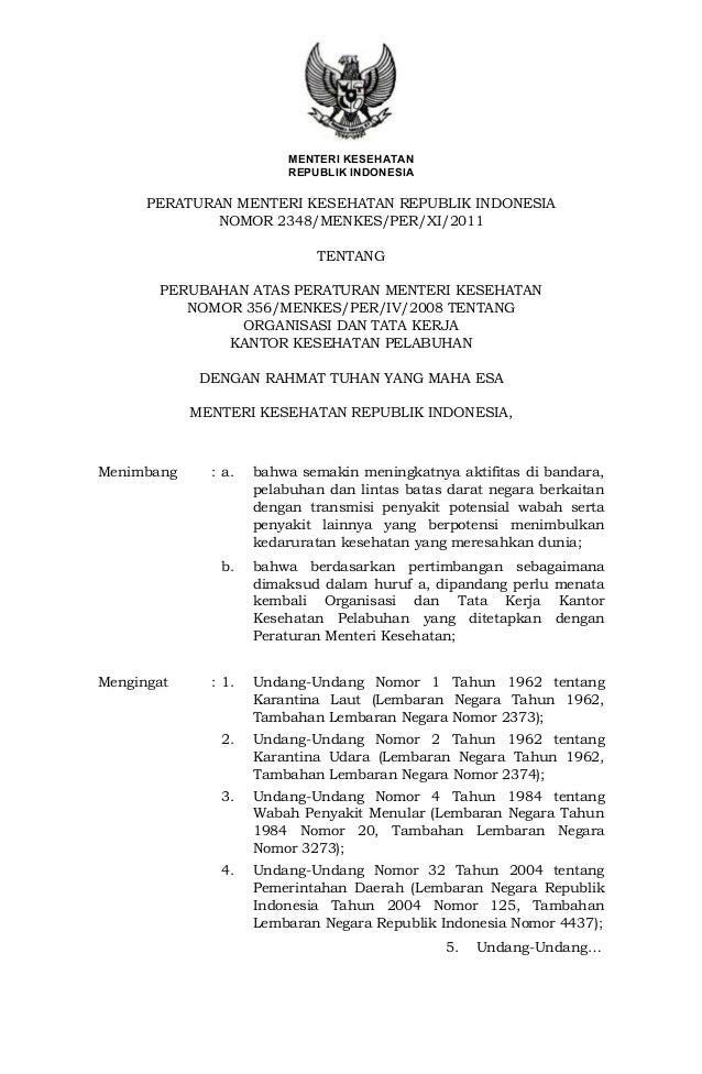 MENTERI KESEHATAN                         REPUBLIK INDONESIA      PERATURAN MENTERI KESEHATAN REPUBLIK INDONESIA          ...