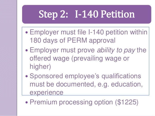 employer sponsored green card application process - 28 images - h1 b ...
