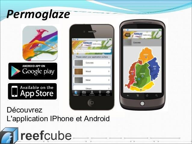 Découvrez L'application IPhone et Android Permoglaze