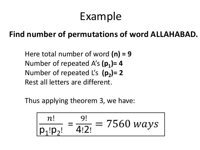 Permutation Amp Combination