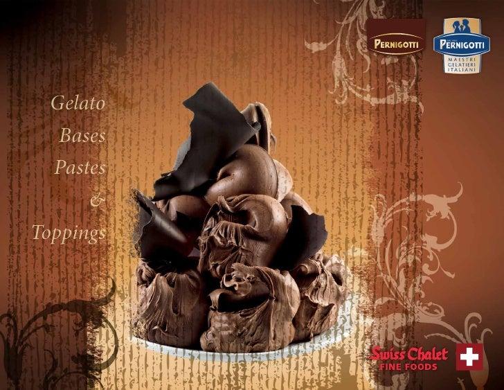 Pernigotti Gelato Recipe Book (Final Draft)