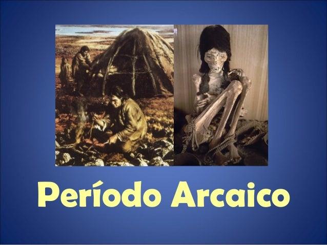 Período arcaico