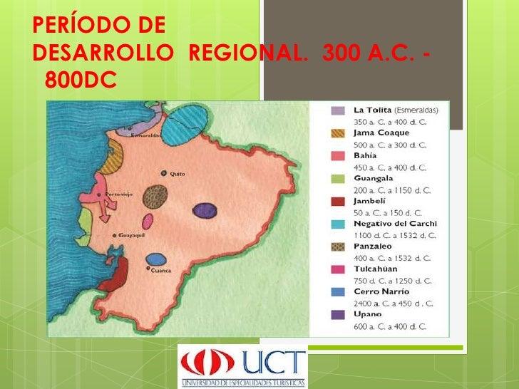 PERÍODO DEDESARROLLO REGIONAL. 300 A.C. - 800DC