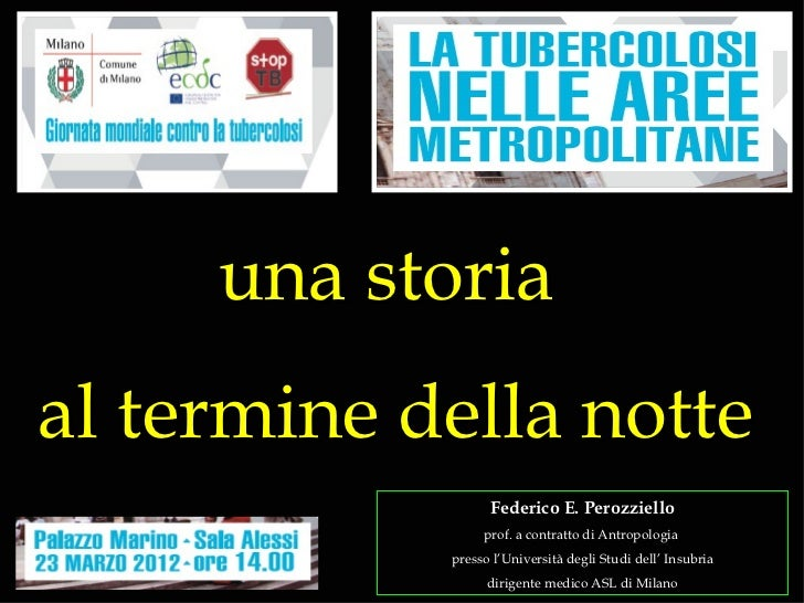 """PPT Perozziello """"A story at the end of the night"""""""