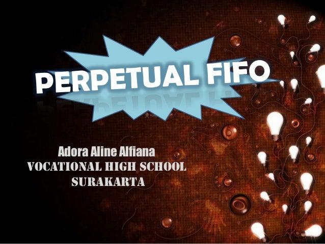 Adora Aline Alfiana Vocational High School surAKARTA