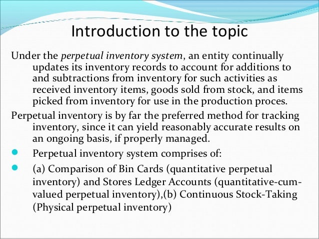 introduction for inventory system chap1 Access operations management 12th edition chapter 1  solutions for chapter  1c1  among her responsibilities are forecasting inventory management.