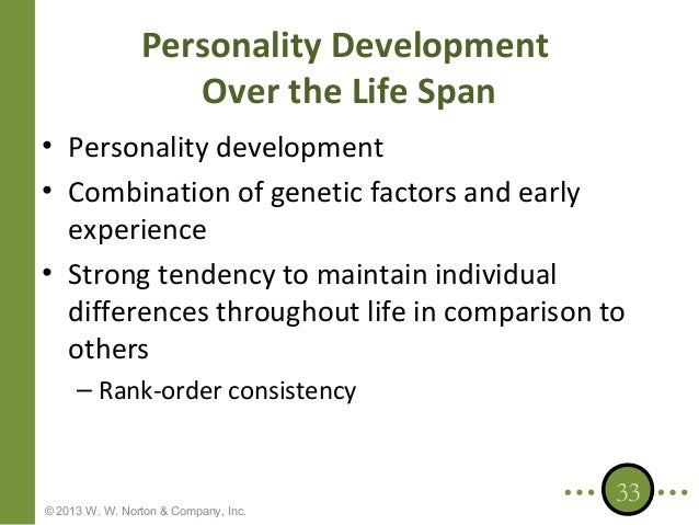 sources of personality development