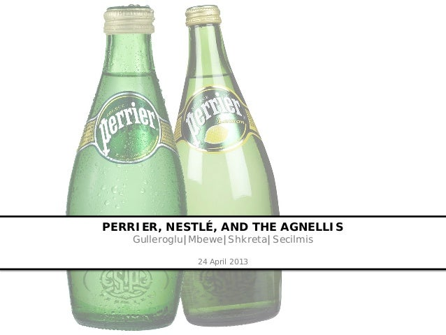 perrier marketing case study Perrier recall: source of trouble case solution, if a lab discovered traces of carcinogenic benzene in perrier bottles, perrier group of america immediately announced.