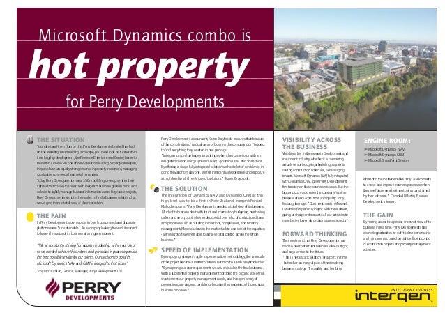 Perry Developments (case study)