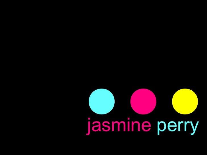 Jasmine Perry Visual Resume