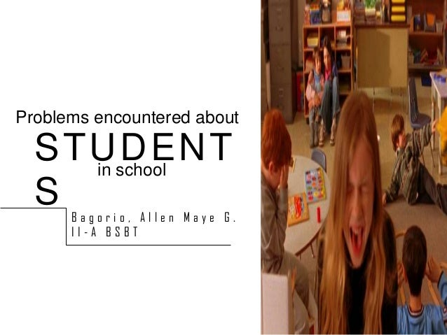"""academic problems encountered by students """"problems encountered by irregular students on their academic subjects"""" chapter 1 introduction to the study students encounters many and different problems."""