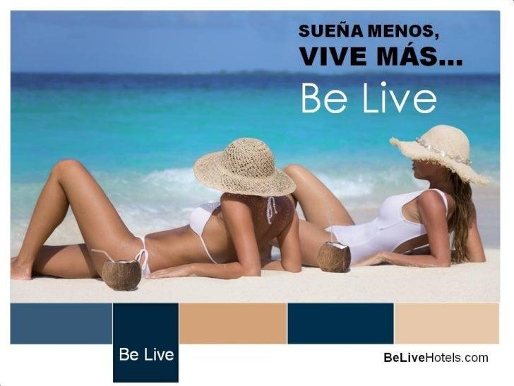 Persentacion hoteles belive cancun