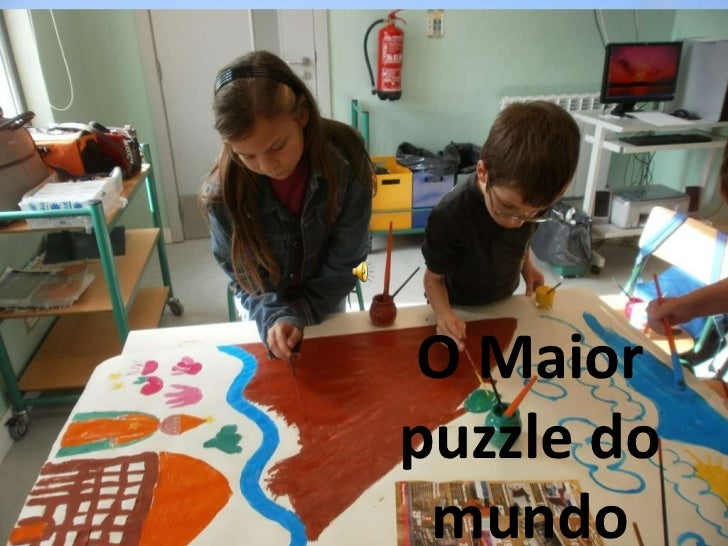 PREAA - MérciaFonseca O Maior puzzle do mundo
