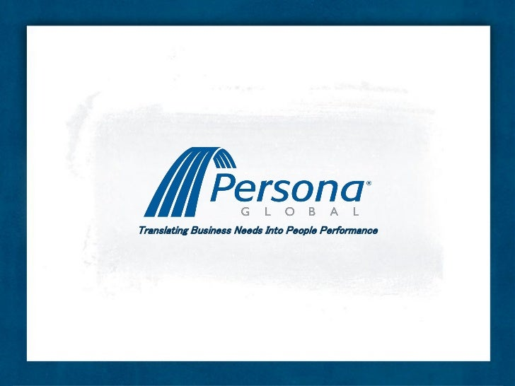 Translating Business Needs Into People Performance