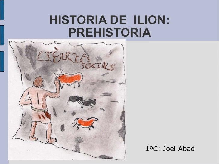Personajes de Historia de Ilión