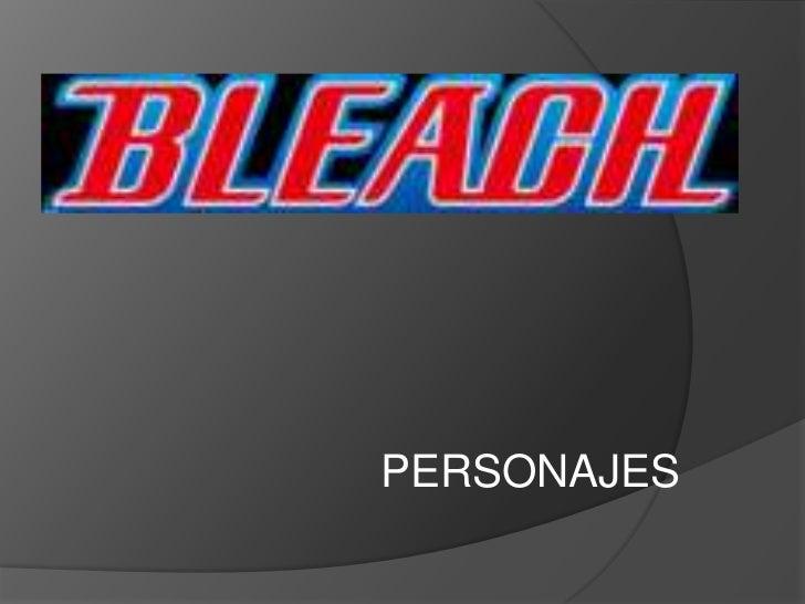 Personajes bleach