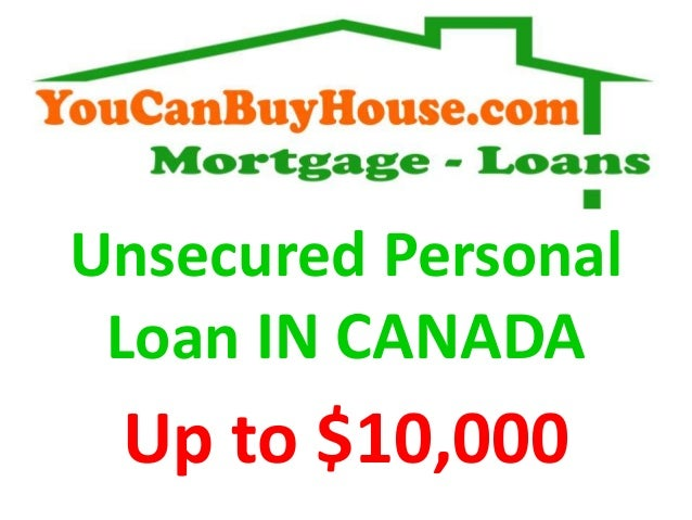 Unsecured Personal Loan : Unsecred personal loan in canada