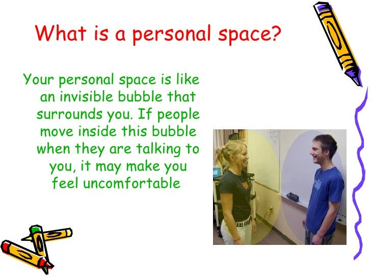Personal space for What is space