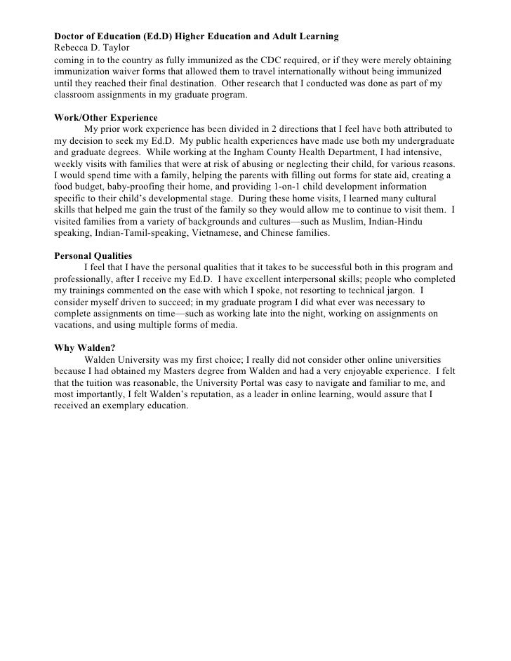 kagan world personal goal statement for mba program
