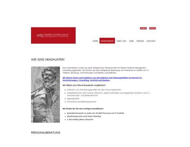 MBMC: Headhunter Wien und Headhunters in Österreich