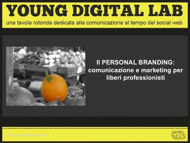 Personal branding - Alberto Antonello