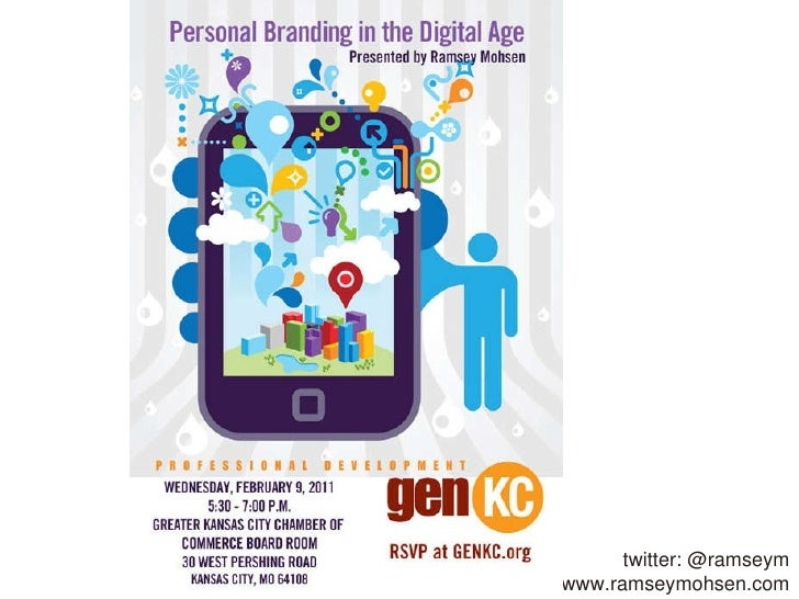 Personal Branding in the Digital Age (genKC presentation)