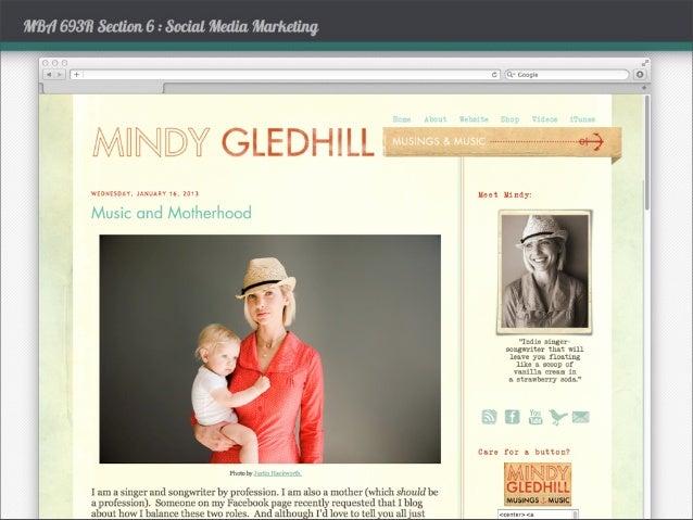 Personal Branding 2 - Mindy Gledhill