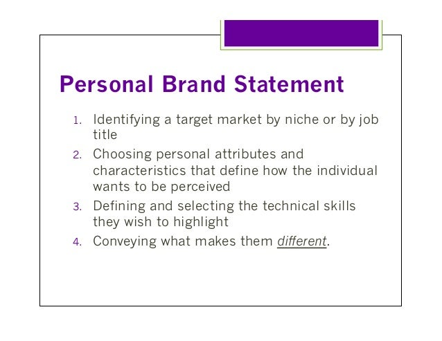 branding problem statement The key to an executive resume that gets results is writing one that is targeted toward the type of position a branding statement should consist of two.