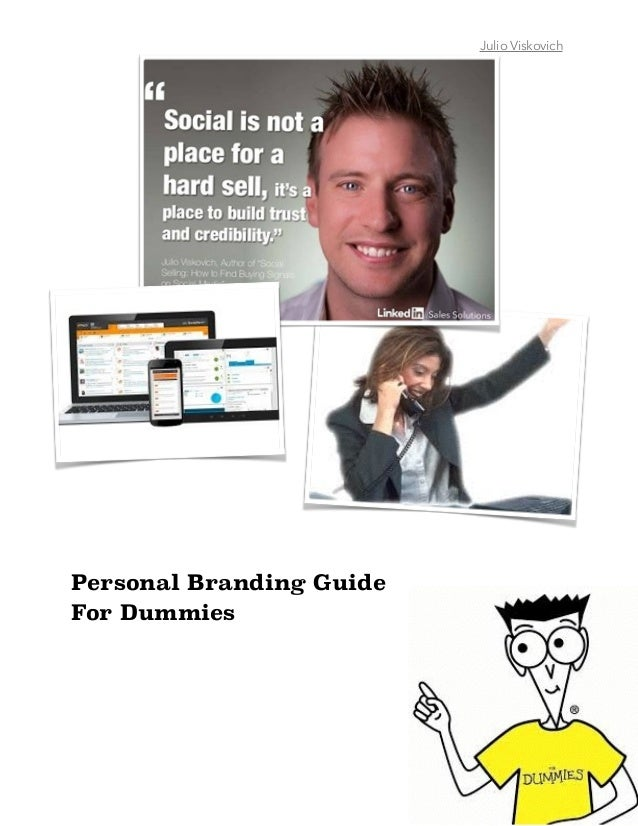Personal Branding Guide For Dummies