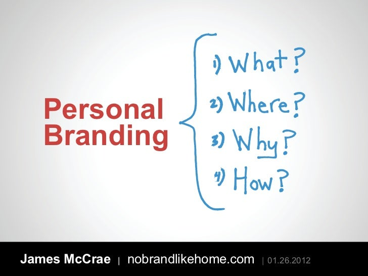 Personal Branding: What? Where? Why? How?
