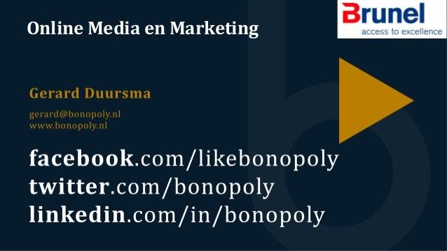 Online  Media  en  Marketing