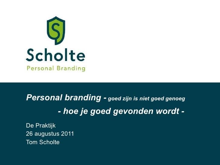 Personal branding workshop 260811