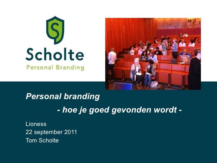 Personal branding workshop lioness 1